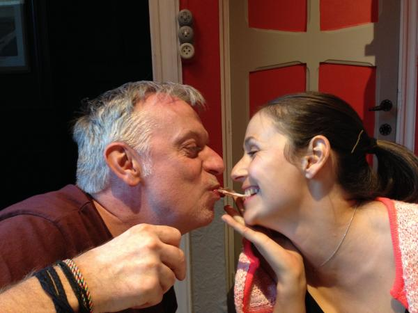 Rudy Léonet et Fanny Guéret (Pure FM)