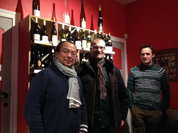 Philippe Stevens, Tienchi Chi, Kris Jeuris