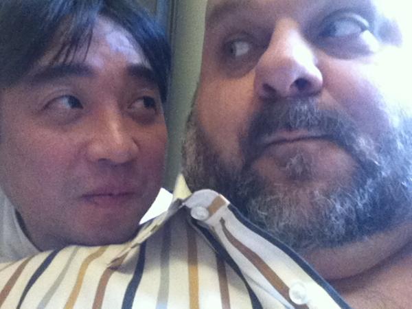avec Yoshida SHUNSHUKE