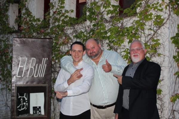 Avec Antoine PETRUS chez EL BULLI